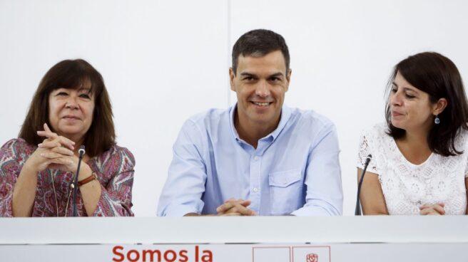 Narbona, Sánchez y Lastra, en la Ejecutiva del PSOE.