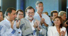 Rajoy, en la interparlamentaria del PP en Valencia.