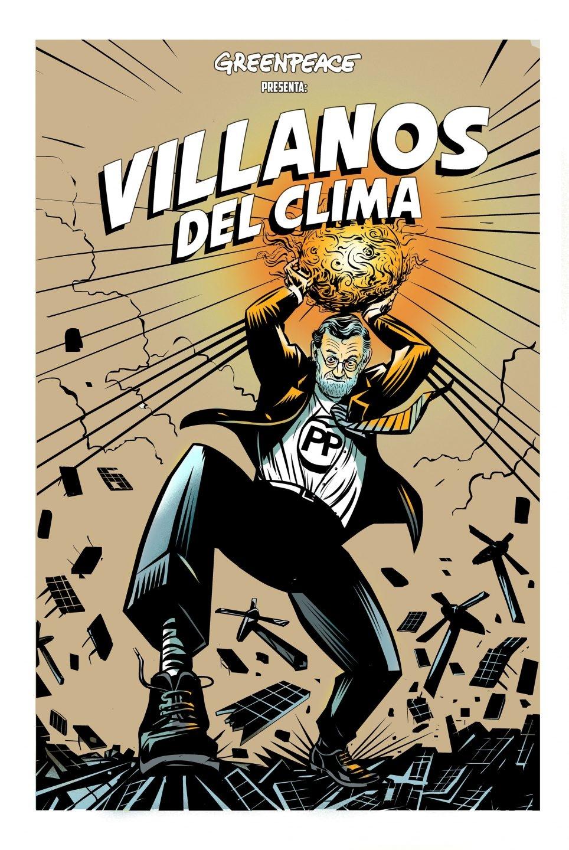 Rajoy, 'Villano del Clima'. (Raúl Arias)