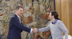 Pablo Iglesias y Felipe VI viajarán juntos a la toma de posesión del nuevo presidente de Bolivia