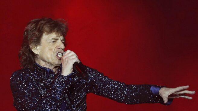 MIck Jagger, con los Rolling Stones en Barcelona.