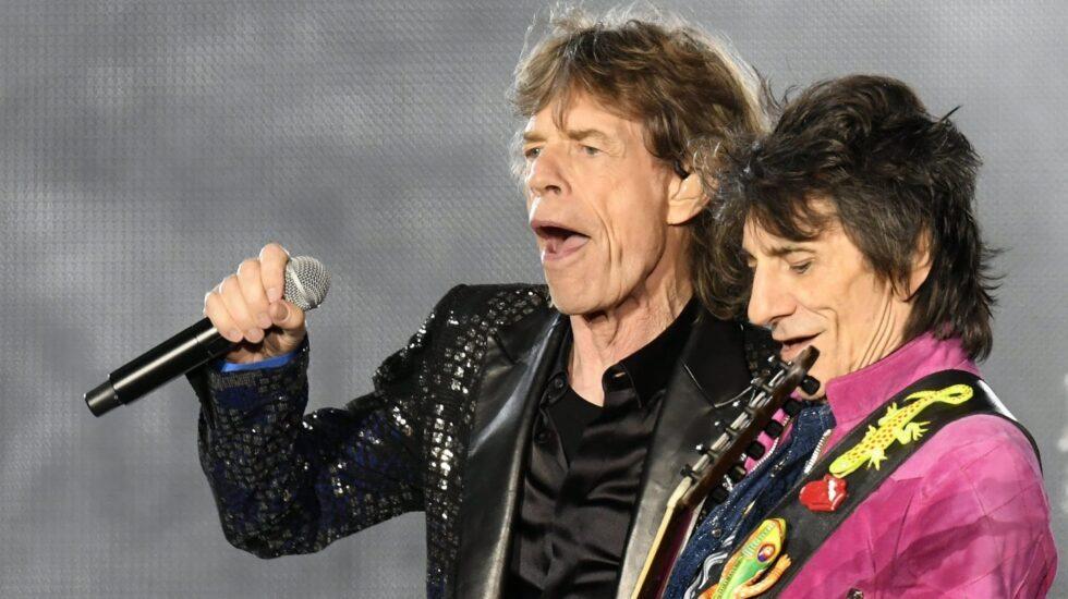 Rolling Stones: Mick Jagger y Ron Wood, en un reciente concierto.