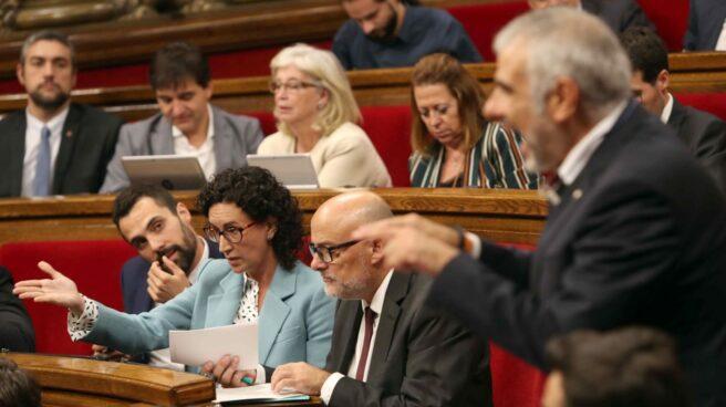 Referéndum 1-O: Marta Rovira, en el Parlament.