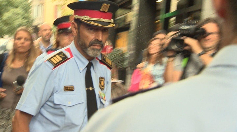 El mayor de los Mossos, Josep Lluis Trapero.