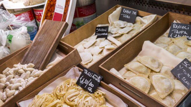 Pasta fresca, a la venta en el restaurante Tu Pasta.