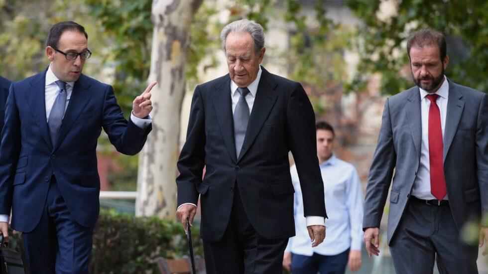 Operación Lezo: el expresidente de OHL, Juan Miguel Villar Mir, en la Audiencia.