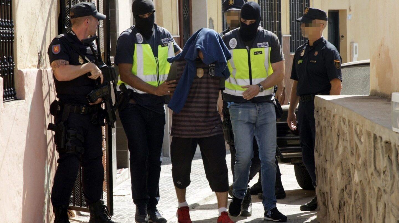 Detención de un yihadista en Melilla.