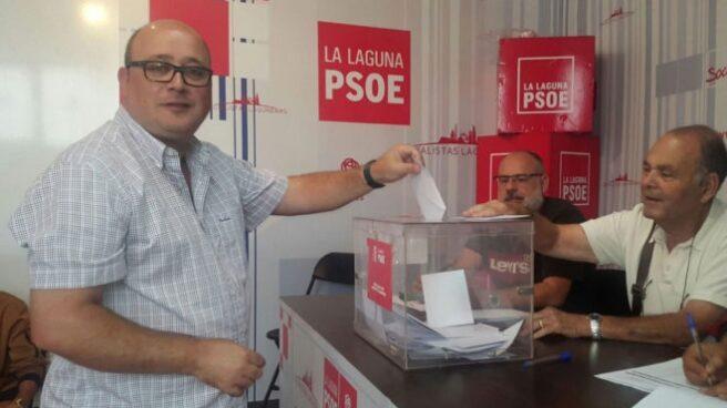 Zebenzui González, concejal del PSOE.