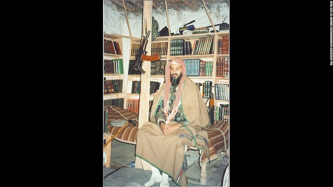 El cuarto de Bin Laden en Tora Bora
