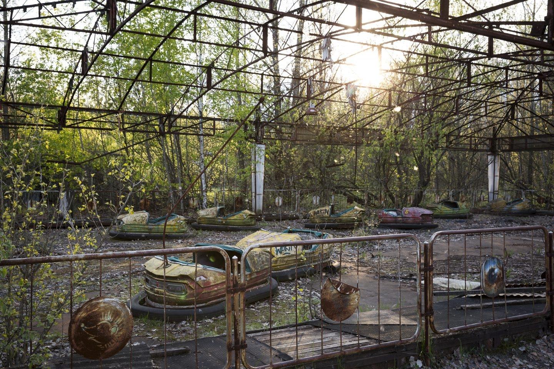 Así estaba la localidad ucrania de Pripyat, 30 años después del accidente.