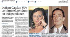 Artículo de 'The Guardian' sobre el desafío independentista.