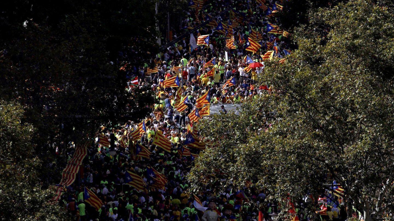 Diada de Cataluña.