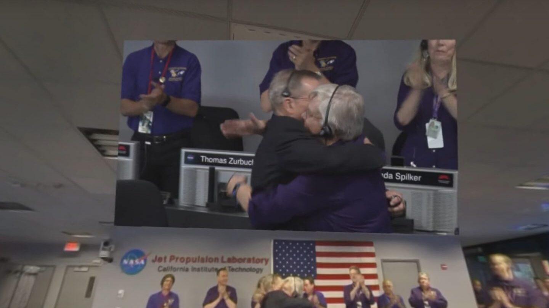 El director de la misión Cassini en el momento final de la misión