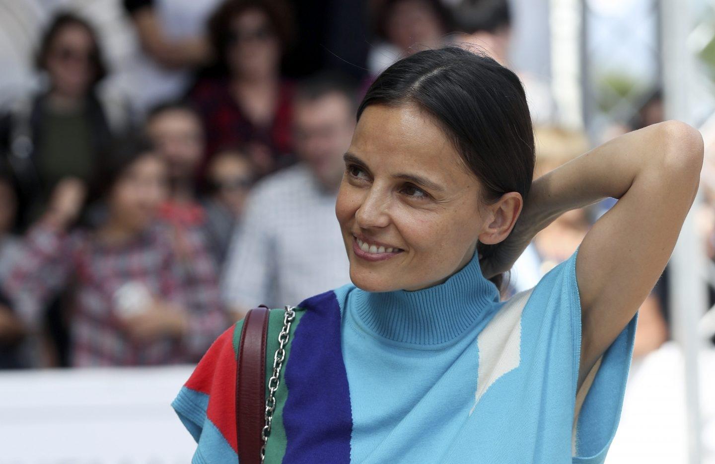 La actriz Elena Anaya en el Festival de San Sebastián.