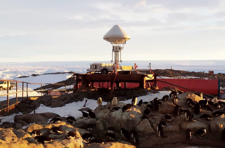 Estación científica de Durville en la Antártida