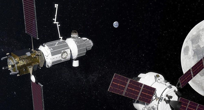 Futura estación orbital en la Luna