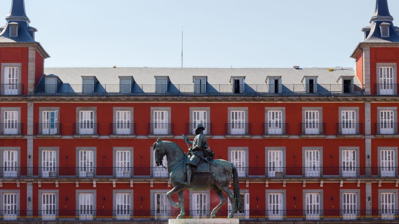 Estatua ecuestre de Felipe III.