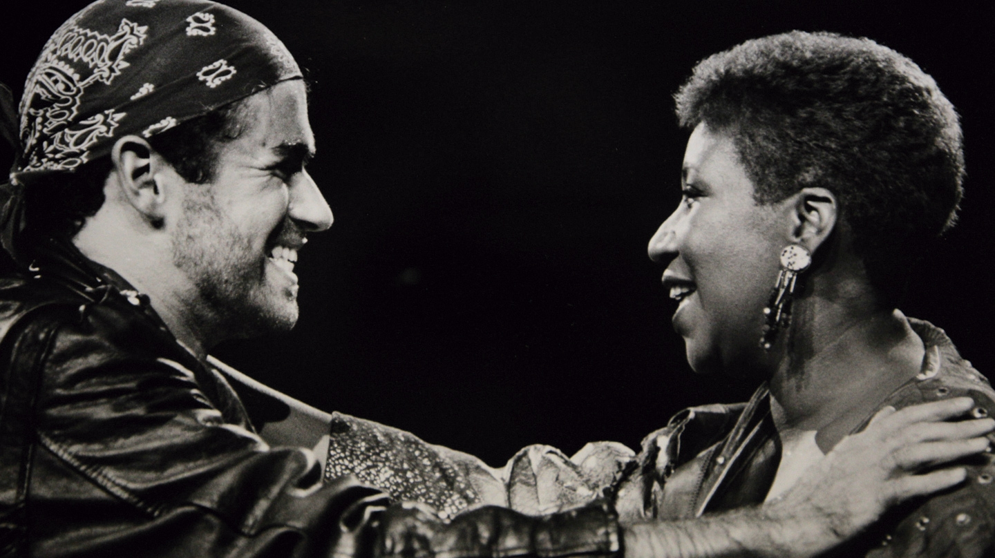 George Michael y Aretha Franklin