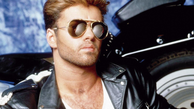 """George Michael, en una de las imágenes promocionales de su album """"Faith"""""""