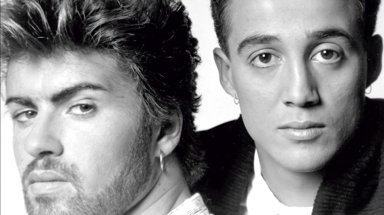 George Michael y Andrew Ridgeley en su etapa de Wham!