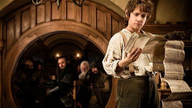 Fotograma de la película 'El Hobbit'.