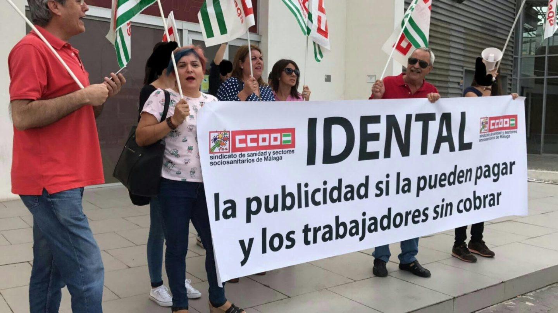 Los sindicatos plantean solicitar el concurso de acreedores de iDental para evitar que los trabajadores dejen de cobrar.