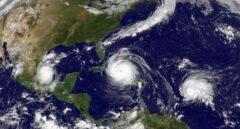 El huracán Irma y las tormentas tropicales José y Katia se dirigen a la costa americana