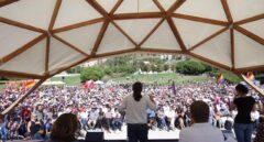Pablo Iglesias, durante su intervención.