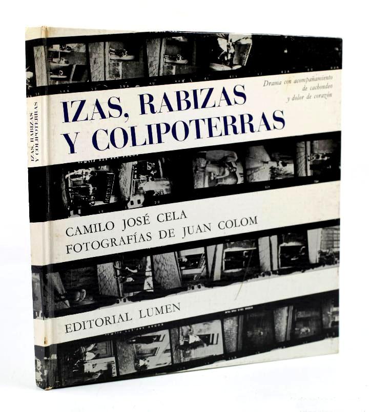 Portada del libro de Cela con fotos de Joan Colom.
