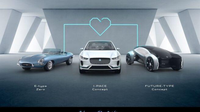 La nueva gama de coches eléctricos e híbridos de Jaguar Land Rover.