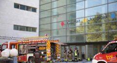 El incendio en la Ciudad de Justicia de Valencia ha inutilizado los juzgados 1, 2, 3 y 4 de Primera Instancia.
