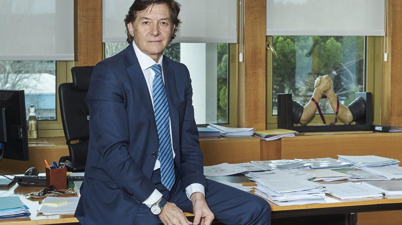 José Ramón Lete, en su despacho del Consejo Superior de Deportes (CSD).