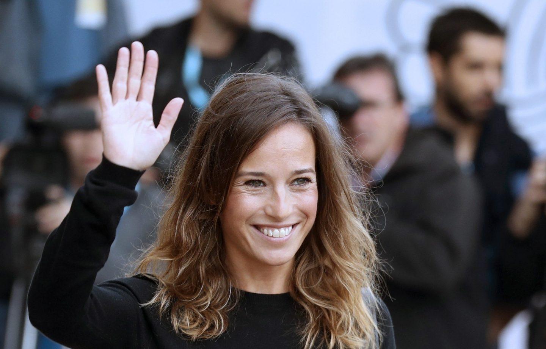 La actriz Marta Etura durante el Festival de San Sebastián.