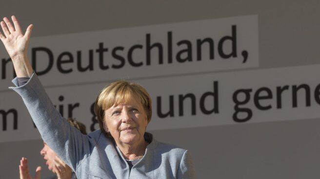 Angela Merkel, la canciller alemana, ganadora de las elecciones por cuarta vez.