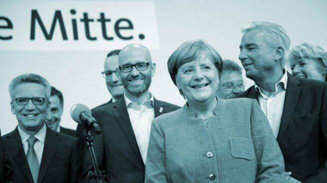 Merkel gana las elecciones alemanas.