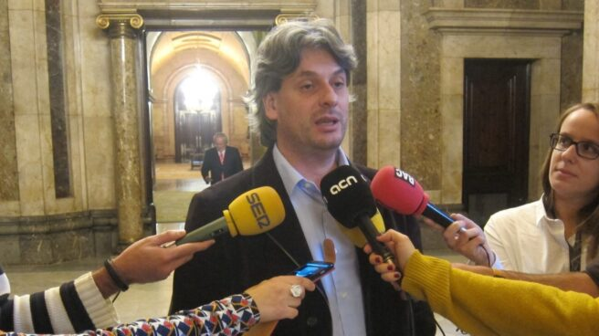 Dionís Guiteras, alcalde de Moià.