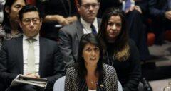 La embajadora de Estados Unidos ante las Naciones Unidas, Nikki Haley.