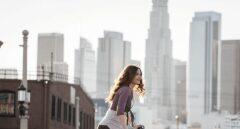 Imagen promocional de la empresa china Ofo, cuyo negocio se basa en las bicicletas de alquiler.