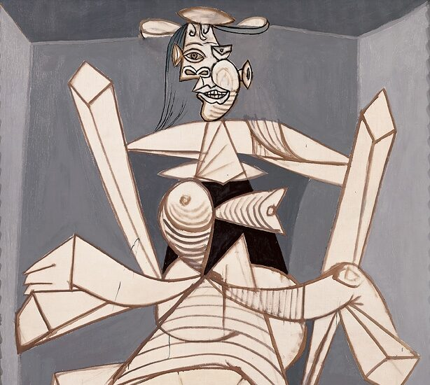'Mujer sentada en un sillón. Dora', de 1938. Pablo Picasso.