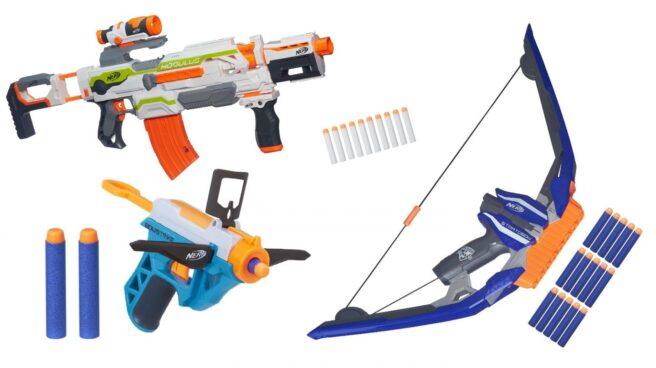 pistolas nerf peligrosas