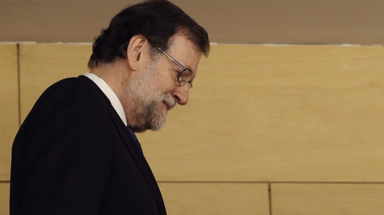 Mariano Rajoy, el día que presentó declaración como testitgo ante el tribunal que enjuicia el 'caso Gürtel'.