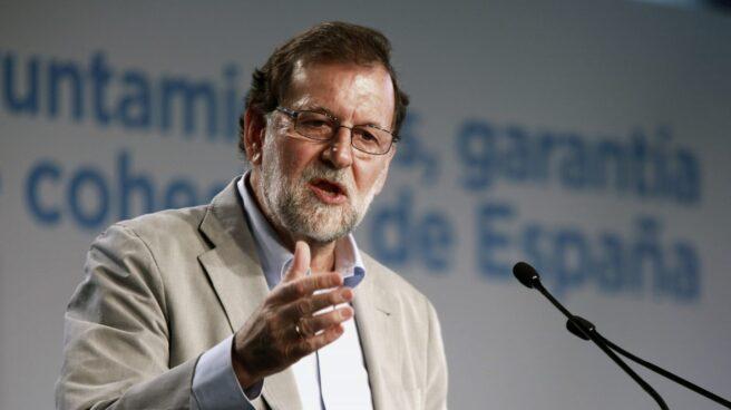 """El presidente del Gobierno, Mariano Rajoy, asegura que """"Europa no da crédito"""" con los pasos dados por los independentistas."""