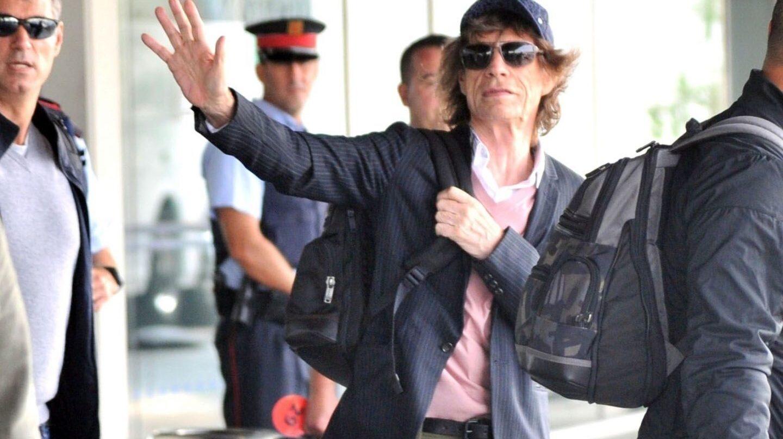 Llegada a Barcelona de sus 'satánica majestades'