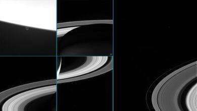 Las últimas (y suicidas) imágenes de Saturno