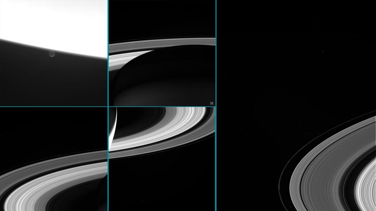 Últimas imágenes de Saturno
