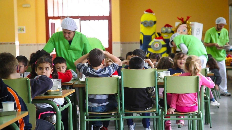 Comer en el comedor escolar no hace que los ni os coman for Comedor que se hace grande