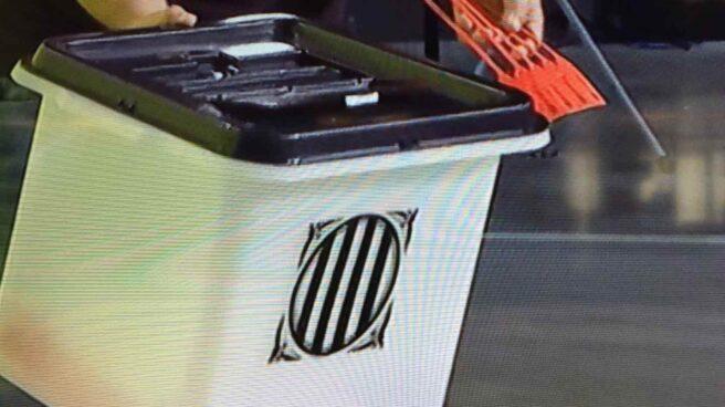 Las urnas del referéndum 1-O.