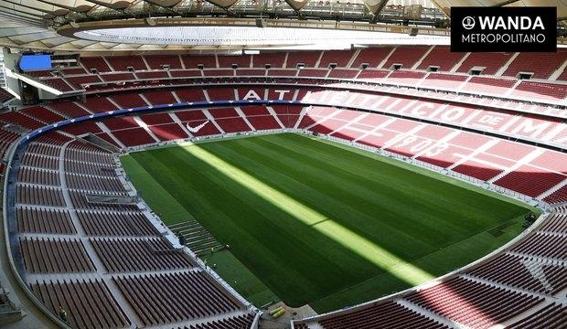 Imagen del Wanda Metropolitano, nuevo estadio del Atlético de Madrid.