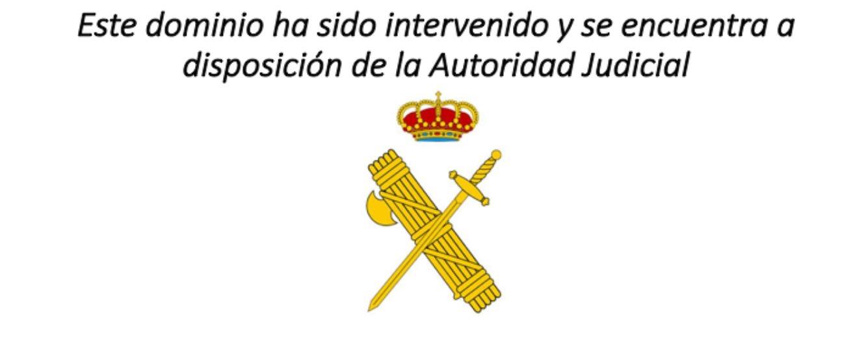 La Guardia Civil ha intervenido en la noche de este lunes las webs de la ANC y el colectivo Empaperem.