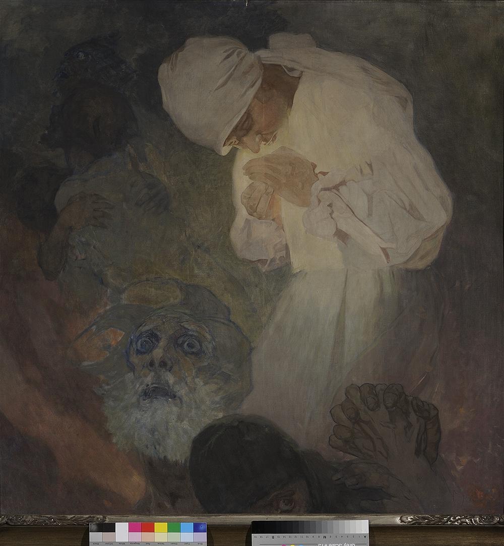 La luz de la esperanza, 1933, óleo sobre lienzo.